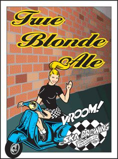 True Blonde Ale is a American Blonde Ale style beer brewed by Ska Brewing Co. in Durango, CO
