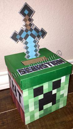 Minecraft valentine box