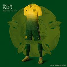 Westeros World Cup Nike Soccer Uniform Concepts - Destination Femme