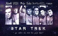 star trek fan art | Star Trek Wallpaper by FanMania on deviantART