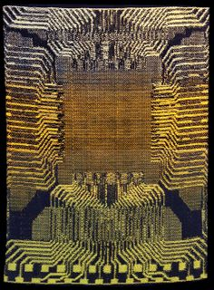 Robin Kang Random Access Memory 2013 hand jacquard woven cotton