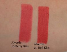 Alverde Schneewittchen LE: Lipsticks in Berry Kiss and Red Kiss