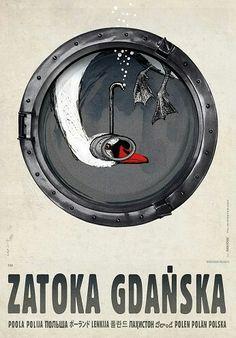 Zatoka Gdańska, Ryszard Kaja, Polska Galeria Plakatu