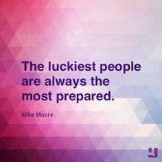 Most prepared