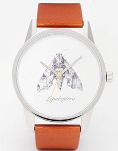 Reloj con estampado de polillas de UNKNOWN