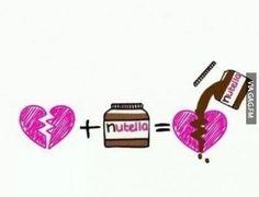 Nutella fixes broken hearts