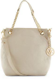 ShopStyle: MICHAEL Michael Kors Handbag, Jet Set Medium Shoulder Tote $198