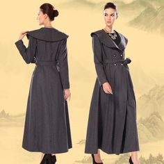 Find More   Information about Winter women's 2014 woolen overcoat lengthen thick woolen outerwear Wool Blends Coat,High Quality  ,China   Suppliers, Cheap   from Pretty Woman LY on Aliexpress.com