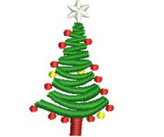 Free Embroidery Design: Christmas Tree - I Sew Free