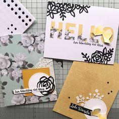 Resteverwertung #2 Memories Box, Workshop, Blog, Floral, Cards, Scrap, Man Card, Creative, Atelier