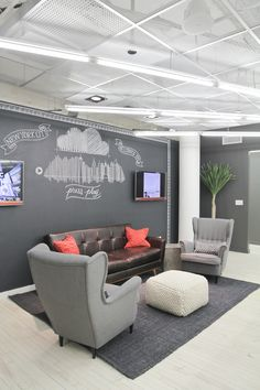 Another Look Inside SoundCloud's New York #officedesign #workspace