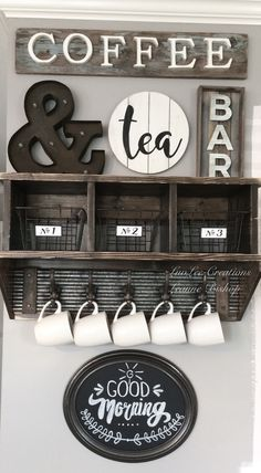 "Just added this DIY chalkboard sign to my coffee bar! Be sure to follow my Facebook page: ""LuvLee Creations"" for more fun DIY projects https://m.facebook.com/luvleecreations/"