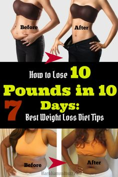 How to Lose 10 Pounds in 10 Days: 7 Best Weight Loss Diet Tips.     Proper weight loss is a gradual process as the combination of proper diet and exercise burns away the excess fat so you can lose weight. However, there are times when you need to lose a little weight quickly perhaps to look your best for a wedding or other event. You will need to understand how to lose 10 pounds in 10 days so you can look your best.