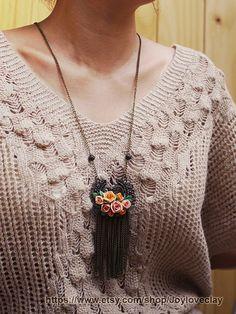 handmade polymer clay jewelry #diy #jewelry #polymer #clay #pretty #nice #fashion #trendy #style #accesories #earrings #pendant