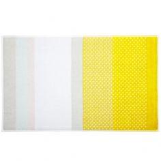 S&B Bath mat, yellow