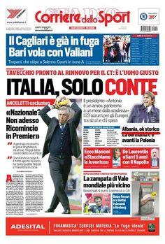 Corriere dello Sport: Shqipëria në Evropian, De Biasi në histori   | Corriere dello Sport: Shqipëria në Evropian, De Biasi në histori