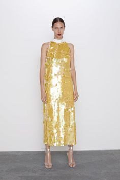 LIMITED EDITION SEQUIN DRESS - View all-DRESSES-WOMAN | ZARA United States