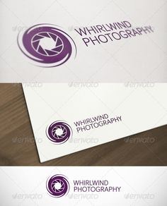 Whirlwind Photography Premium Logo - GraphicRiver Item for Sale