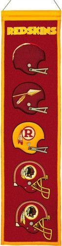 Washington Redskins Winning Streak Heritage Banner
