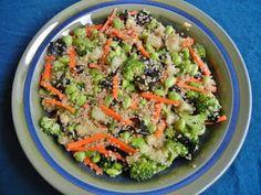 asian quinoa salad.