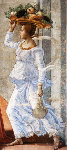 By Domenico Ghirlandaio 1449-1494