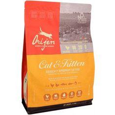 Orijen Kattenvoer Cat & Kitten, Orijen Cat Food Cat & Kitten #natural #cat #kat #petfood #natuurlijk #webshop #catfood #orijen