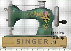 singer naaimachine maquina de costura ponto cruz