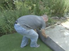 Create a backyard putting green. Follow these step-by-step instructions from <em>Don't Sweat It</em> host Steve Watson.