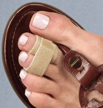 Make your toes happy - ease the pain of Hammertoes, overlapping toes and protect jammed toes or fractures.