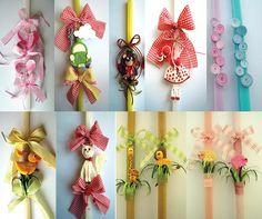 Φτιάξ' το μόνος σου! | Ιδέες για χειροποίητες πασχαλινές λαμπάδες - Cosmos 965 - Kefalonia Psalm Sunday, Easter Crafts, Crafts For Kids, Easter Ideas, Diy Ostern, Spring Crafts, Advent Calendar, Candles, Holiday Decor