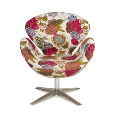 Flights of Floral Chair