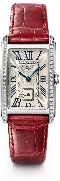 Longines Dolce Vita Diamond Watch, 23mm. Watch fashions. I'm an affiliate marketer. When you click on a link or buy from the retailer, I earn a commission.