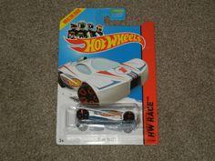 Hot Wheels SLING SHOT HW Race-2014 HW Race Team White (Toy Cars, Diecast)  #HotWheels