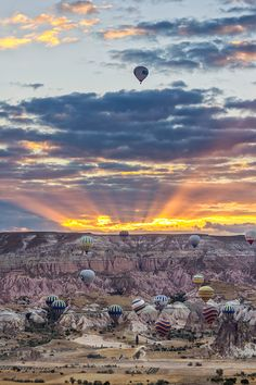 Our precious moment. at Cappadocia Turkey
