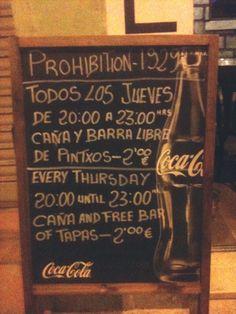 Prohibition Speakeasy 1929, Carrer Sant Magí.