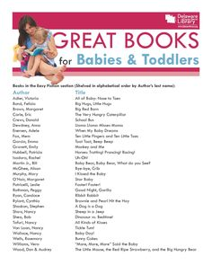 Great Books for Babies & Toddlers (1)