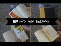 Harry Potter Bookmark : Quick & Easy DIY - YouTube