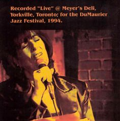 This was a live recording session taped during the Jazz Festival in the mid-90′s by CJRT (now JazzFM). It was recorded at Meyers Deli on Yorkville in Toronto.
