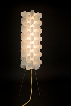 Spine Design Lamp Wit PP