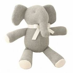 It used to be that grandmas passed their time in rockers knitting clothes and toys for their sweet, precious grandchildren. But these days you're more likely to find a granny rocking out than rocking back and forth. Lucky then, that we found this adorable Ellie Elephant. Available at www.childrensdept.com.au