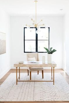 Minimalist home office decor ideas. Office Office, Home Office Space, Home Office Design, Home Office Decor, Home Decor, Office Spaces, Office Inspo, Modern Home Office Desk, Office Setup