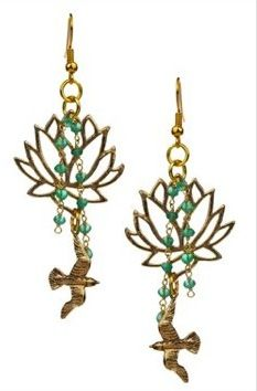 Favorite Earrings - if only I could remember the designer (Hautelook.com)