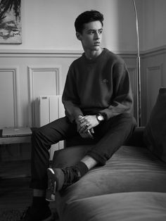 Parisian YouTuber Dimitris Kad talks to BoysbyGirls about what inspires him and how life is as a teenager in the modern day. Photographed by Maud Maillard, styling by Michael K Wallace. Read the full interview here.Dimitris wears Shirt by SANDRO PARIS and Trousers by H&M.