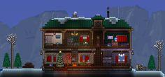 Comfy Winter Home : Terraria