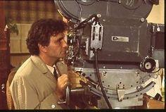 COLUMBO-PETER-FALK-ON-SET-BEHIND-CAMERA-ORIGINAL-1975-NBC-TV-PHOTO-TRANSPARENCY