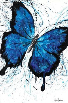 Beach Butterfly Art Print by Ashvin Harrison | iCanvas Art Prints, Realism Painting, Popular Artwork, Canvas Prints, Painting, Abstract Canvas Art, Artwork, Abstract, Canvas Painting