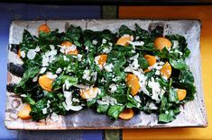 o: Chard and Persimmon Salad with Coconut and Maple Vinegarette
