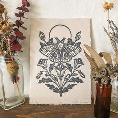 Linocut Prints, Art Prints, Tattoo Bein, Tatuagem Old School, Gold Ink, Grafik Design, Graphic, Art Inspo, Art Projects