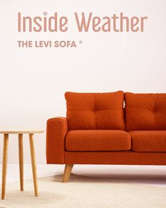 The Levi Sofa - Furniture designed by you and shipped within days. Custom made individually for you. Explore our co - Diy Furniture Videos, Furniture Ads, Diy Furniture Plans, Wooden Furniture, Furniture Design, Furniture Stores, Cheap Furniture, Diy Sofa, Wooden Shipping Crates