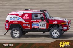 Toyota Dakar 2013 Perú